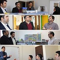 بازدید معاون برنامه ریزی و سیاست گذار امور فناوری وزارت عتف از پارک قم