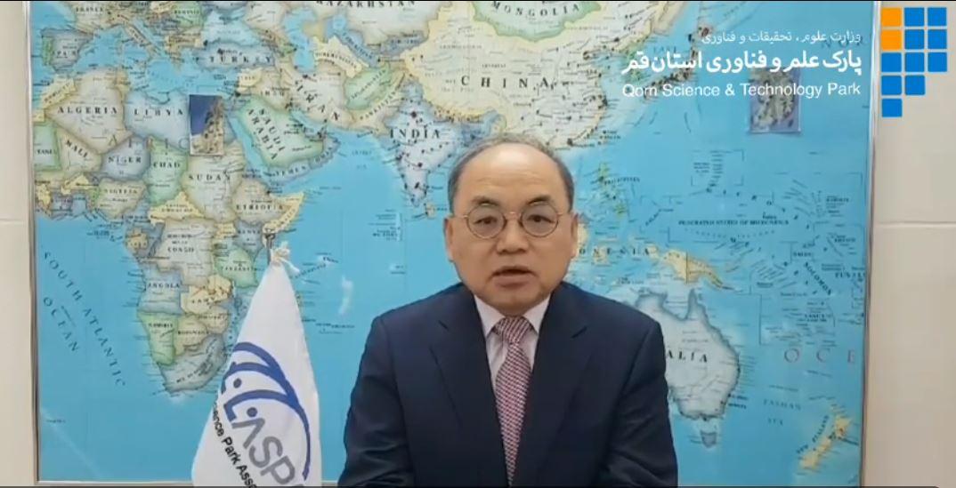 پیام ویدئویی دبیرکل ASPA به مناسبت فرارسیدن هفتمین سالروز تأسیس پارک علم و فناوری استان قم
